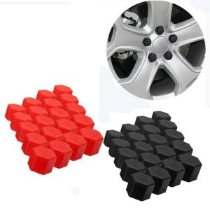 20Pcs 17/19/21mm Silicone Wheel Lug Nut Bolt Hub Screw Cover Tyre Protective Cap - intl