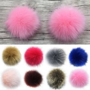 Bluelans® 14cm 16cm Soft Faux Fur PomPom DIY Car Handbag Keychain Fluffy  Ball Pendant 14cm (Rose Red) - intl ae9c55c5f1242