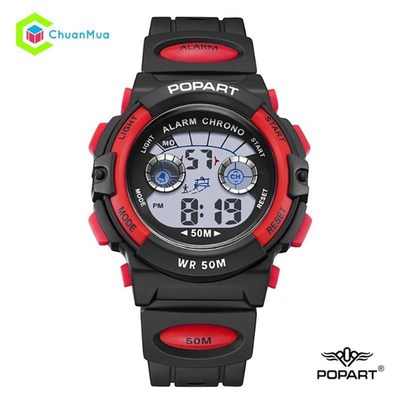 Đồng hồ Bé trai Điện Tử Popart POP-944 Chống Nước - Mã: DHA398 bán chạy