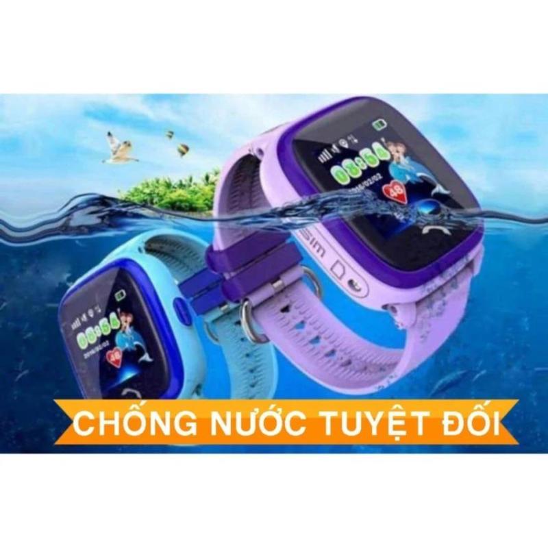 Đồng hồ định vị trẻ em DF25G - chống nước 5 sao bán chạy