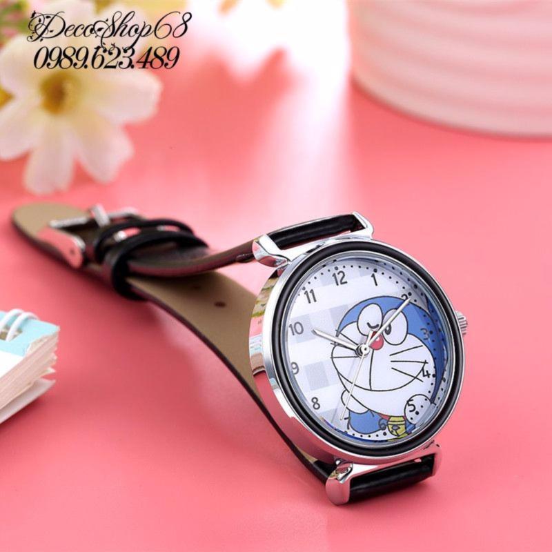 Đồng hồ trẻ em Decoshop68 W08-D màu đen giá tốt bán chạy