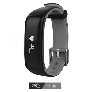 NEW Arrival P1 Smart wristband Bluetooth Blood pressure Heart rate Monitor Smart Bracelet Waterproof Swimming Smart band - intl