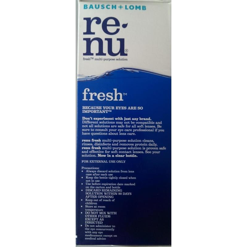 Giá bán Nước ngâm kính áp tròng RENU  355ml
