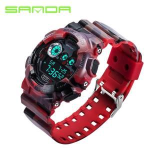 SANDA Sport Watch Jam Tangan es For Men Silicone Strap Led Digital Watch  Jam Tangan Men 2017 Waterproof Luxury Quartz Watch Jam Tangan Men 339 - intl 67384c6156
