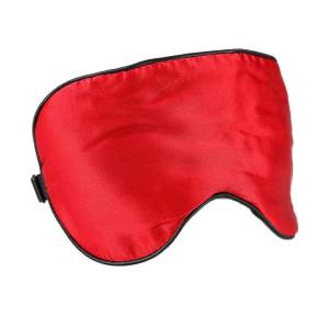 Silk Sleep Mask Soft Eye Mask Sleeping Aid Shade Cover 21.5*11CM Sunlight Blocking Out Blindfold Unisex Comfortable - intl