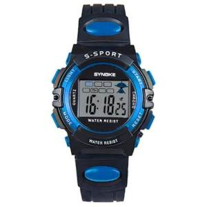 Hình thu nhỏ sản phẩm TwinkleStar Child Boy Girl Waterproof Sport Led Digital Wrist Watch Blue