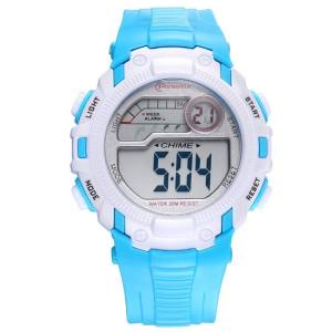 Hình thu nhỏ sản phẩm TwinkleStar Purple Men And Women With Children'S Electronic Watch Waterproof Environmental Protection Material Primary School Hour Meter Multi-Function Movement
