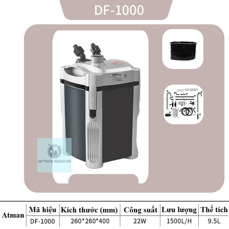 Máy lọc thùng Atman DF-1000