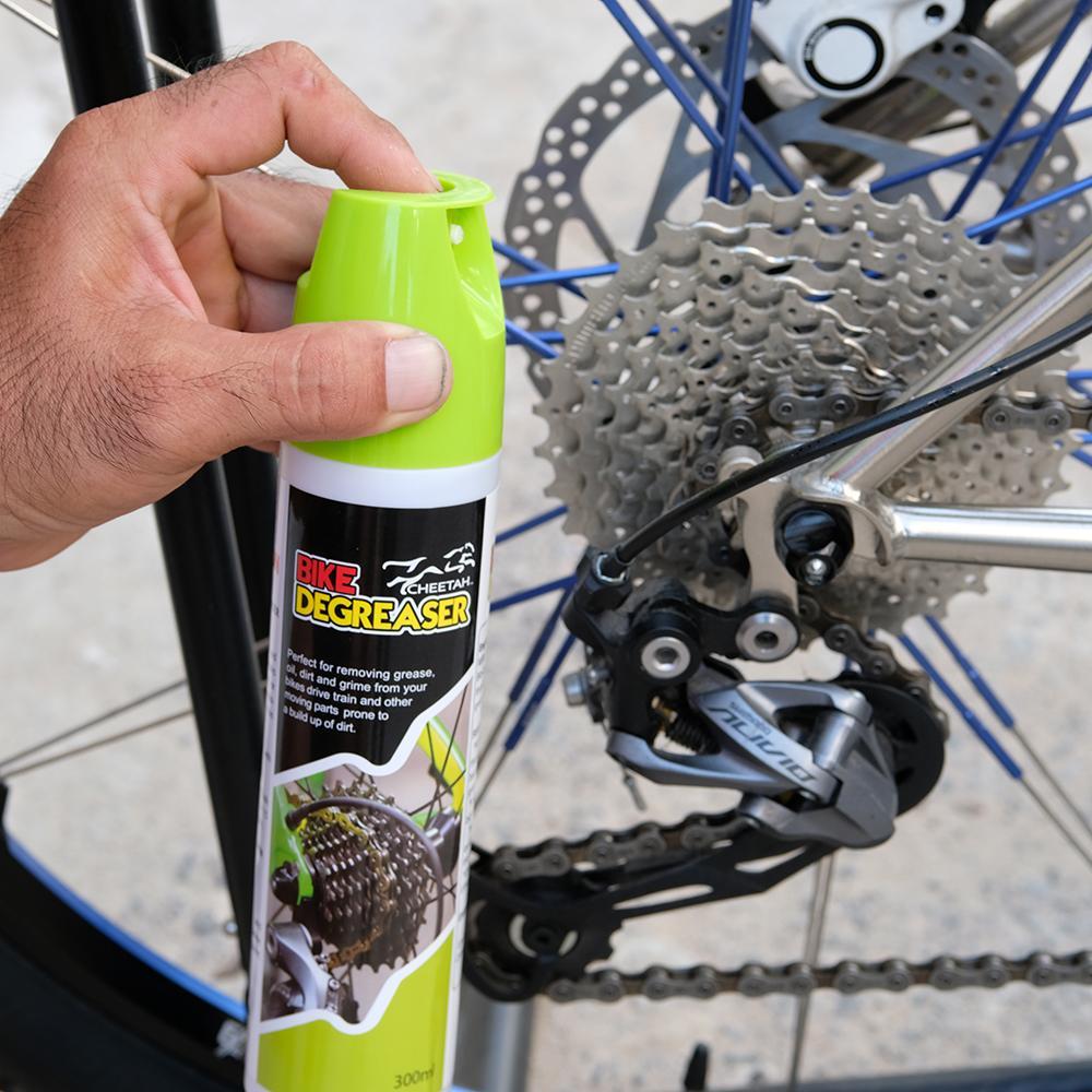 [300ml] Vệ Sinh Tẩy Rửa dầu nhớt sên, líp xe đạp – CHEETAH Giúp Làm Giảm Rủi Ro Gỉ Sét, An Toàn Sử Dụng (300ml)