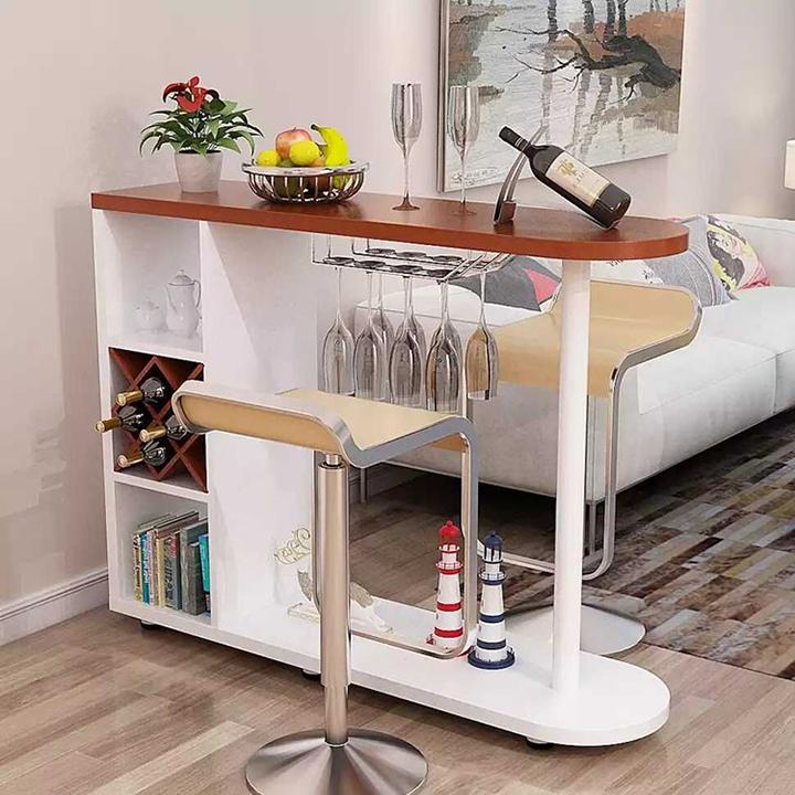 Quầy bar mini hiện đại – Quầy bar mini gỗ đẹp để trong bếp