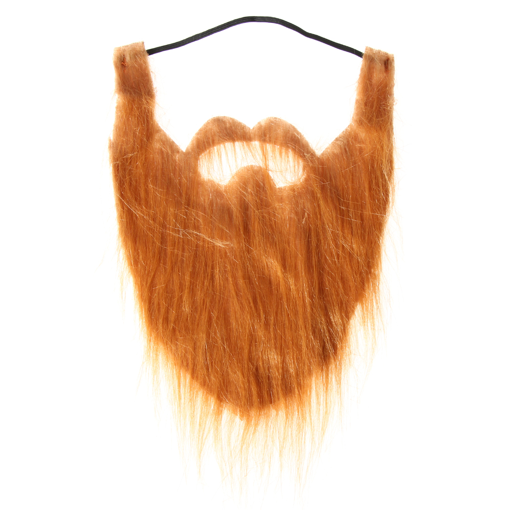 PEANSEA Đồ dùng cho lễ hội Trang phục Halloween Đạo cụ quảng cáo Váy lạ mắt Tóc trên khuôn Bộ ria mép tóc giả Râu giả