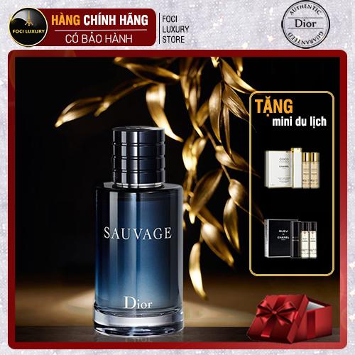 Nước Hoa nam, dầu thơm nam chính hãng Dior Sauvage Eau De Toilette 100ml