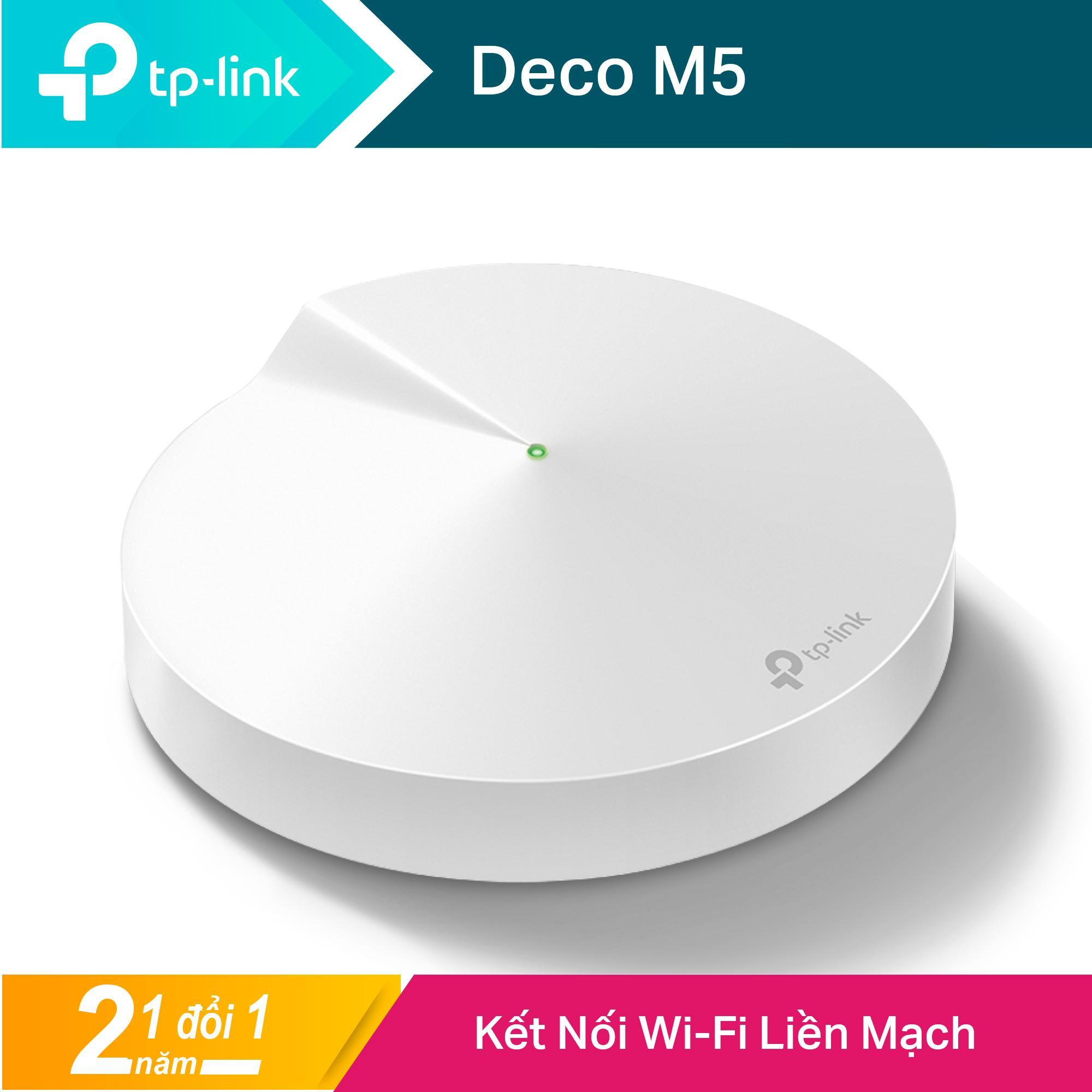 Bộ Phát Wifi Mesh TP-Link Deco M5 AC1300 MU-MIMO