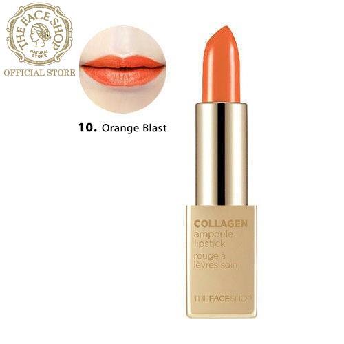 THEFACESHOP - Son Thỏi Collagen Ampoule Lipstick 10 3.5G