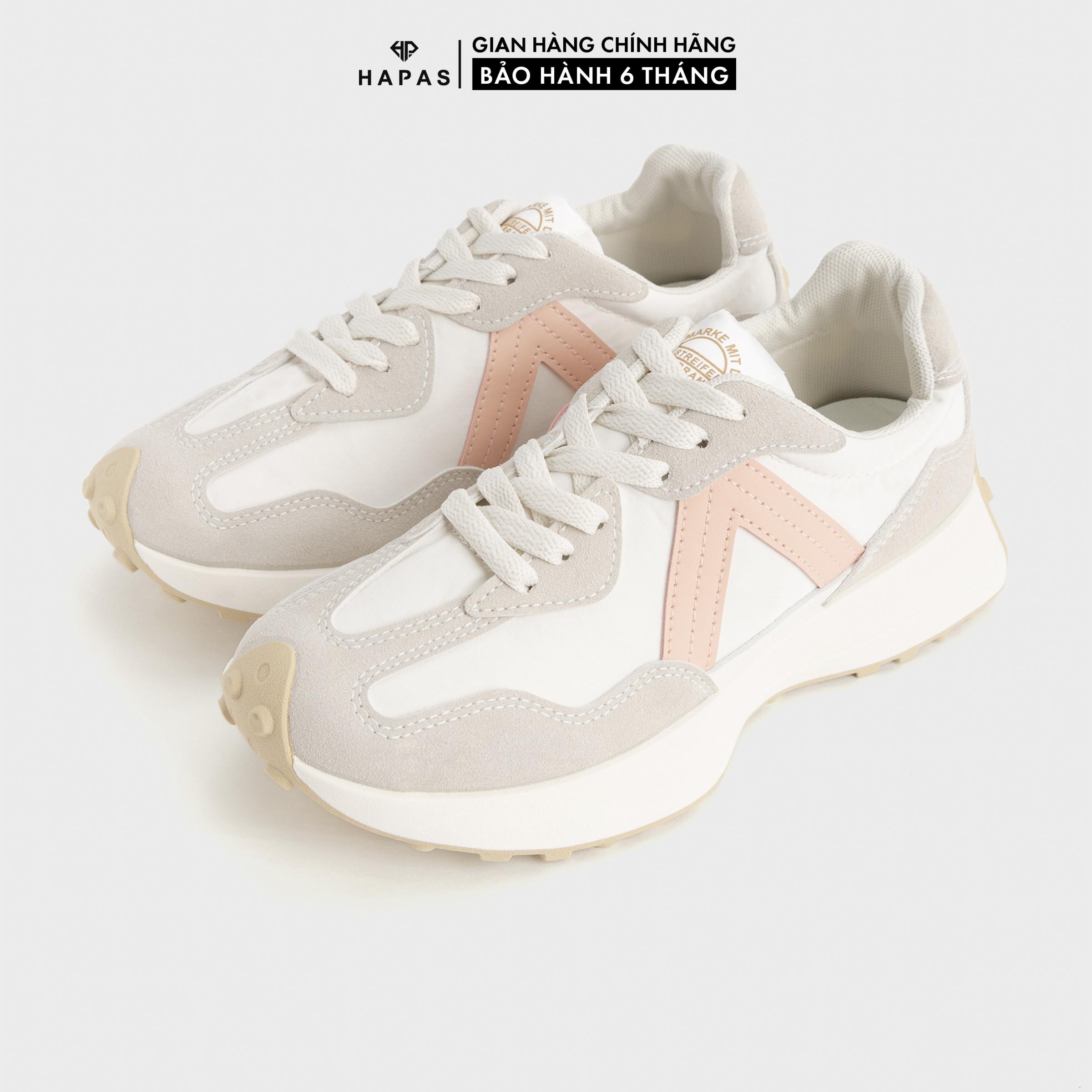 Giày Thể Thao Nữ Sneaker Nữ Viền Chữ V Độn Đế 3P Cá Tính HAPAS – GSK387