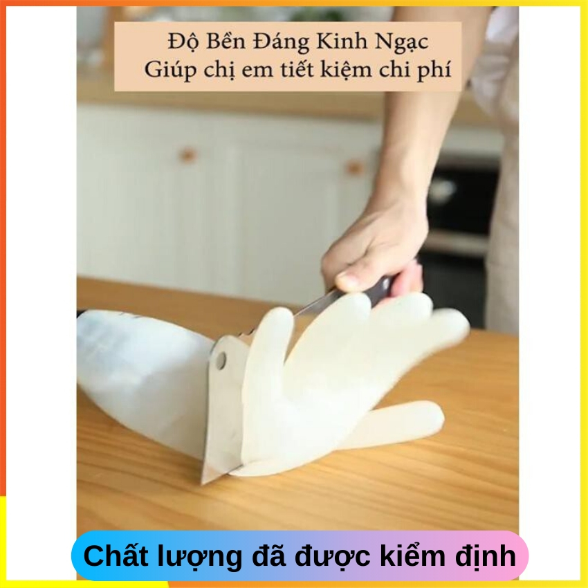 Găng tay cao su rửa chén bát , găng tay làm bếp làm vườn đa năng SOTY GT-028 Siêu dai , chống hóa chất , chịu nhiệt dày dặn chắc chắn