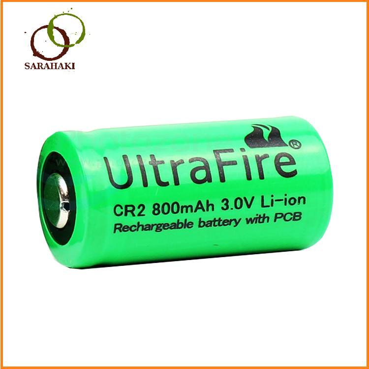 1 viên pin sạc CR2 Ultra Fire 3V, pin sạc CR2 máy ảnh