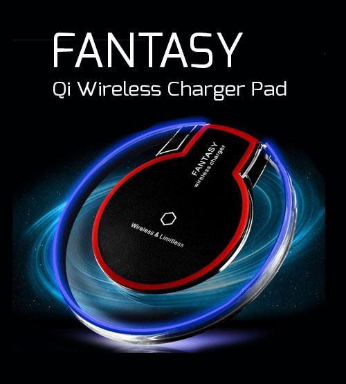 Bộ sạc không dây cao cấp Wireless Charger kèm Chip sạc chuẩn Qi cho OPPO