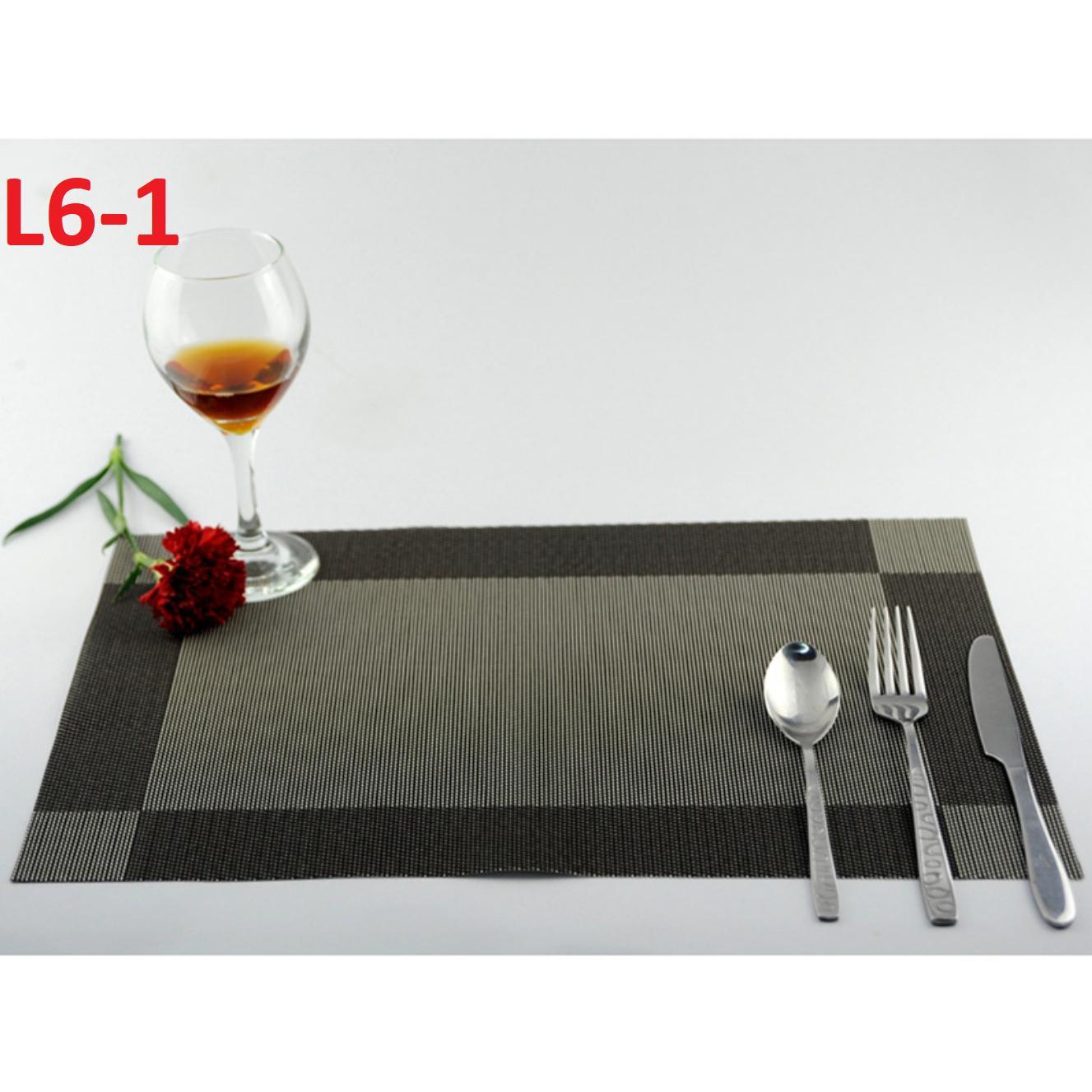 Bộ 4 miếng lót bàn ăn cao cấp (L6)