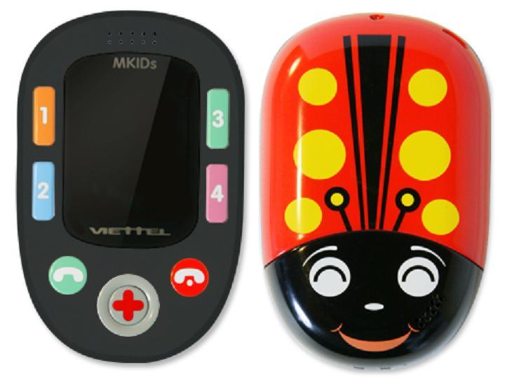 Điện thoại trẻ em định vị Mkids Viettel (bản mở mạng)