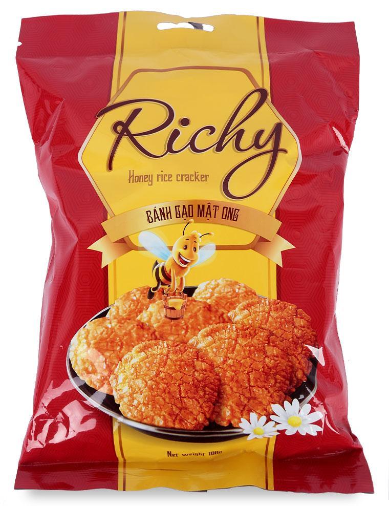 Bánh Gạo Richy Mật Ong Gói 108G