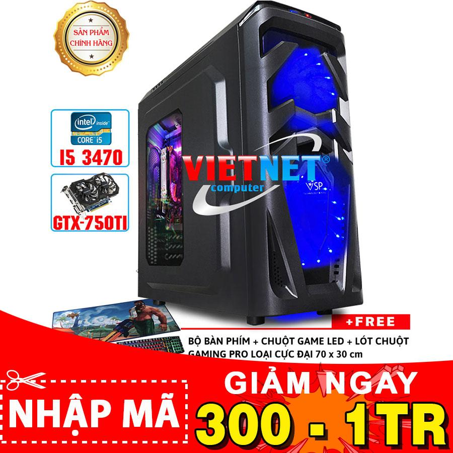 Máy tính chơi game VNgame 53X1 core i5 3470 GTX750Ti Ram 8GB (chuyên LOL, GTA 5, PUBG, Overwatch)