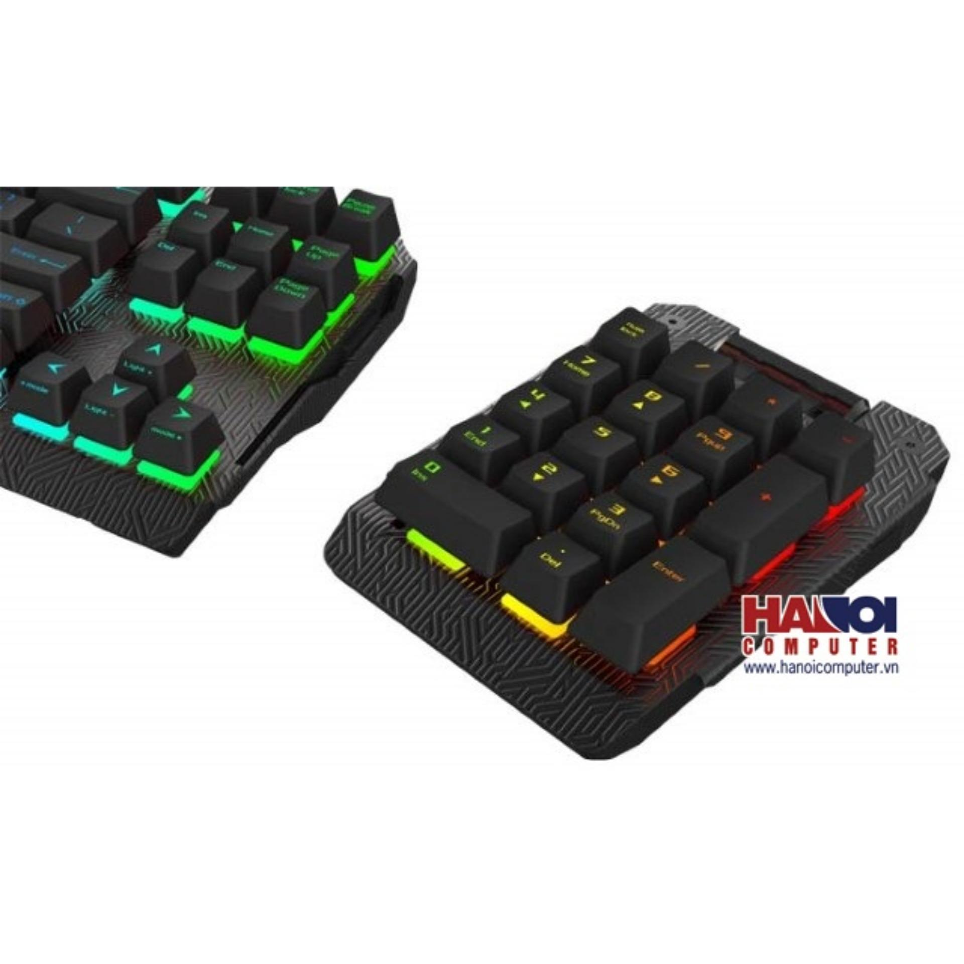 Keyboard Asus ROGB Claymore Bond RGB Numpad Red switch