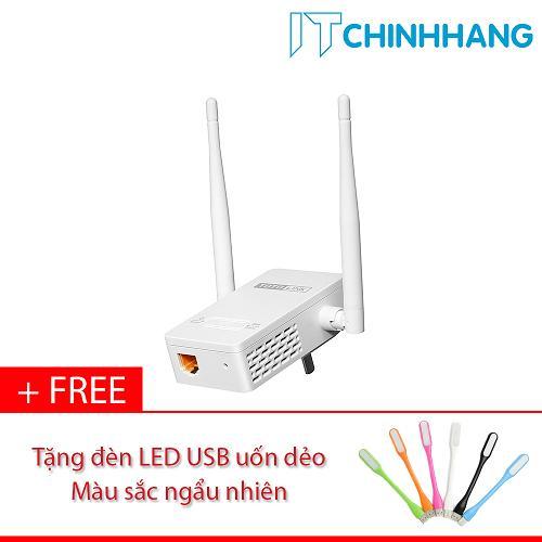 Thiết bị mở rộng sóng Wifi ToToLink EX200 + Tặng đèn LED USB - HÃNG PHÂN PHỐI CHÍNH THỨC