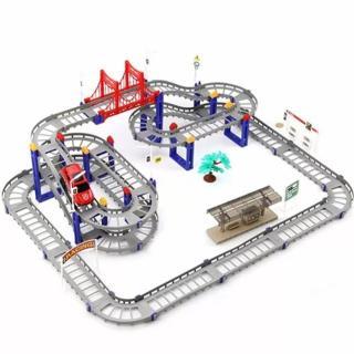 Ô TÔ TÀU LƯỢN - Bộ đồ chơi lắp ráp đường ray cực hấp dẫn cho bé thumbnail