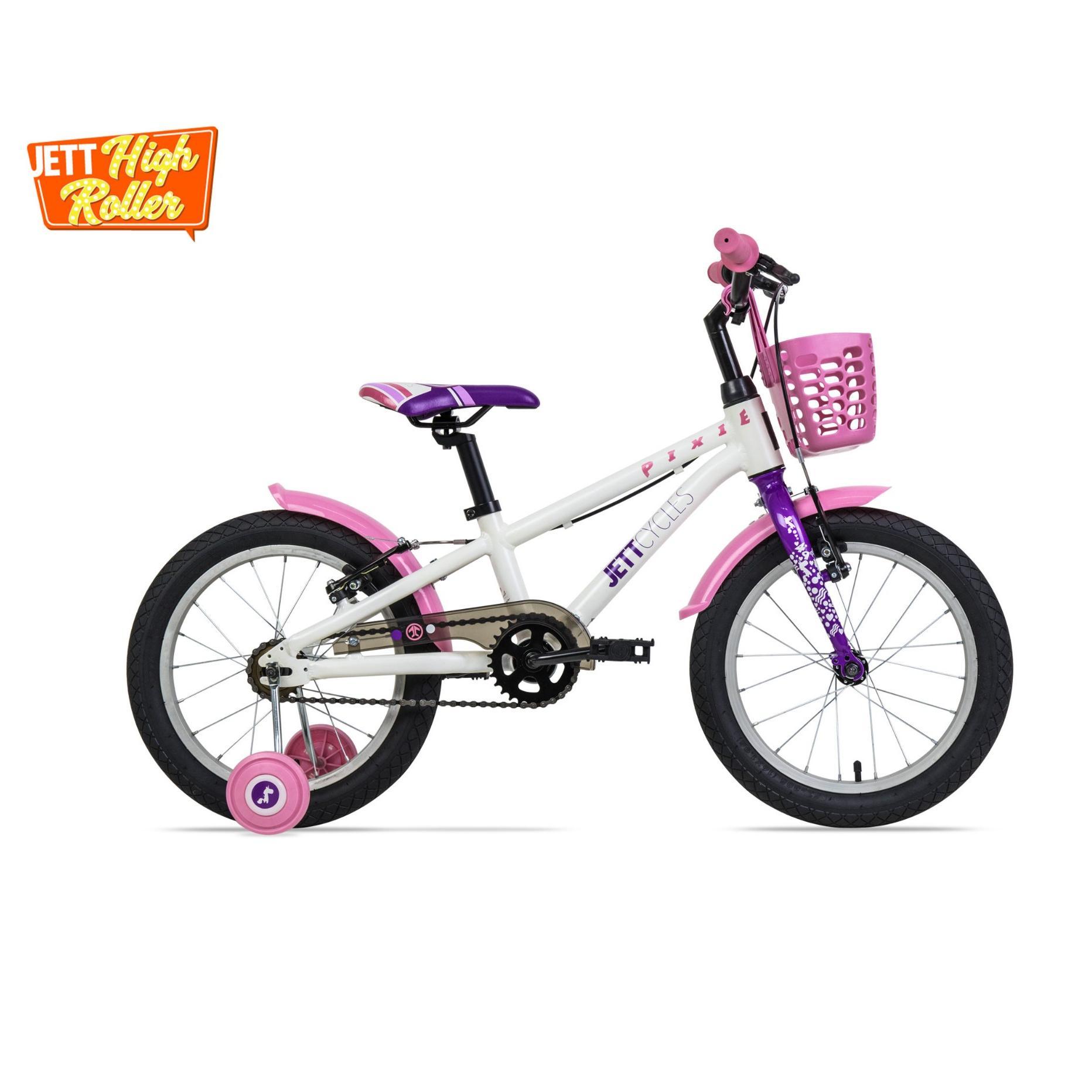 Xe đạp trẻ em Jett Cycles Pixie (màu trắng)