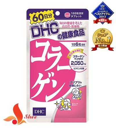 Viên uống bổ sung collagen DHC 2050mg Nhật Bản