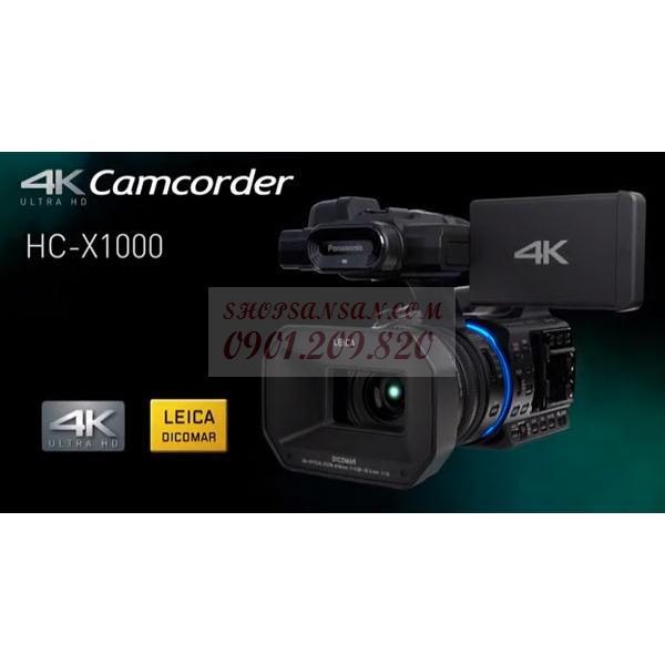 Máy Quay Chuyên Dụng Panasonic Hc-X1000 4K Chính Hãng