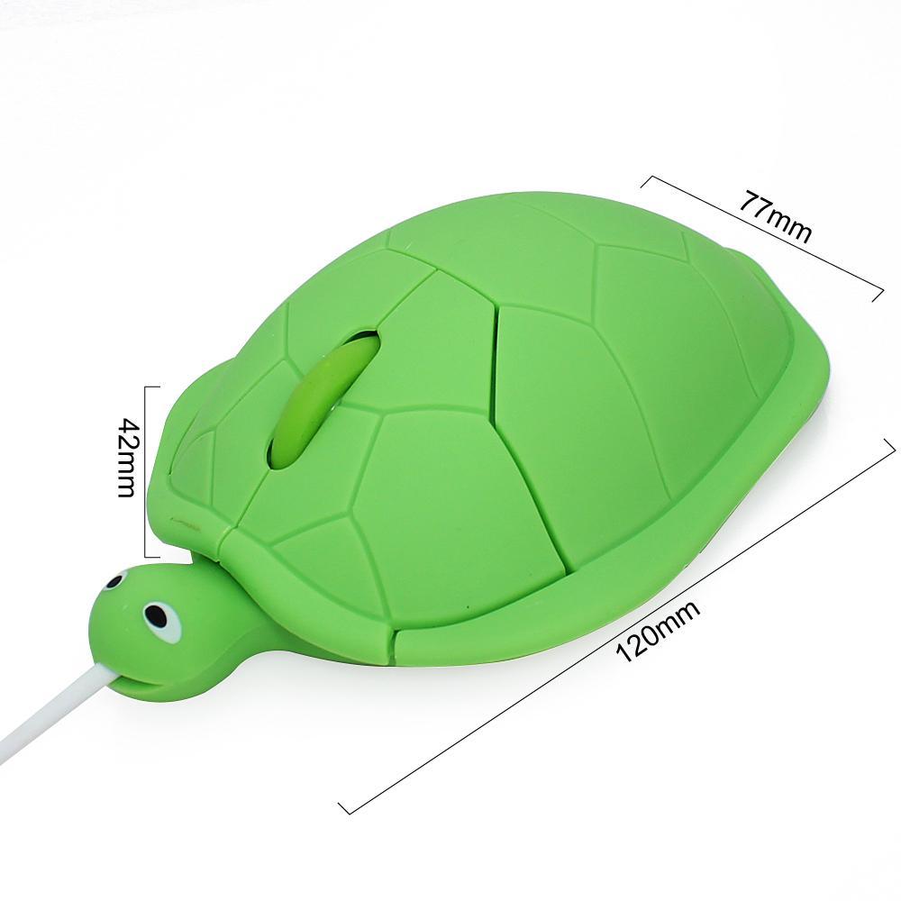 Chuột máy tính có dây hình con rùa độc đáo (Nhiều màu)