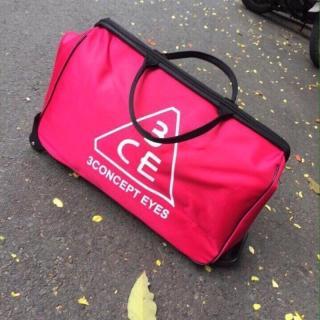 Túi du lịch có tay kéo cao cấp cực hot, chống thấm nước và có khả năng chứa đồ lớn ( Màu Hồng) thumbnail
