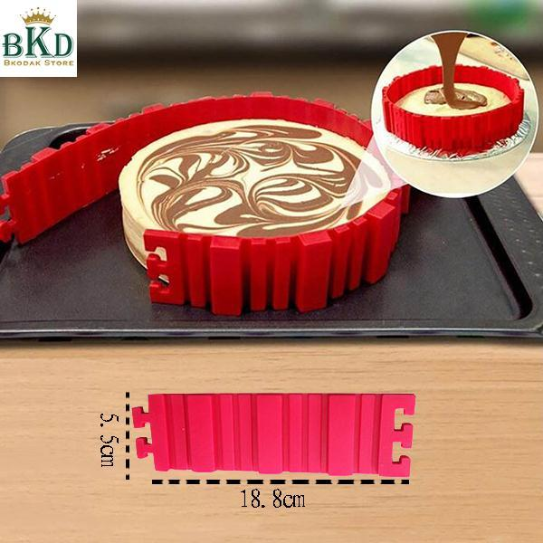 4Pcs/set Cake Mold Cake Baking Accessories Nonstick Magic DIY Any Shape Kitchen