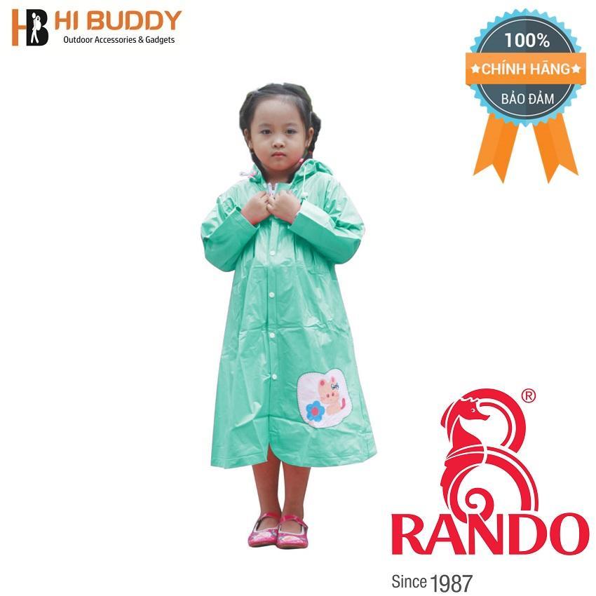 Áo mưa trẻ em Mèo con Rando CPPS-12 Size 2 0.9 – 1.05 m