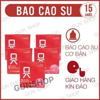 Bộ 5 Hộp Bao Cao Su OKHQ Không Mùi (Hộp 3 chiếc) thumbnail
