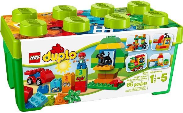 Thùng Gạch LEGO DUPLO Vui Nhộn 10572