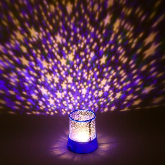 Đèn ngủ tạo sao ngân hà nhiều màu