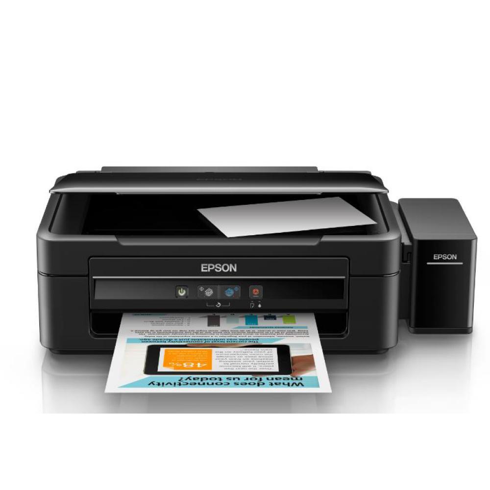 Máy In Epson L360 in phun màu đa năng ( in, scan , copy ) , Khổ giấy A4 , Tốc độ in 33 trang/phút ( đen trắng ) 15 trang/phút ( màu ) , độ phân giải 5760 x 1440 dpi , Kết nối USB 2.0 , Mực T6641/T6642/T6643/T6644