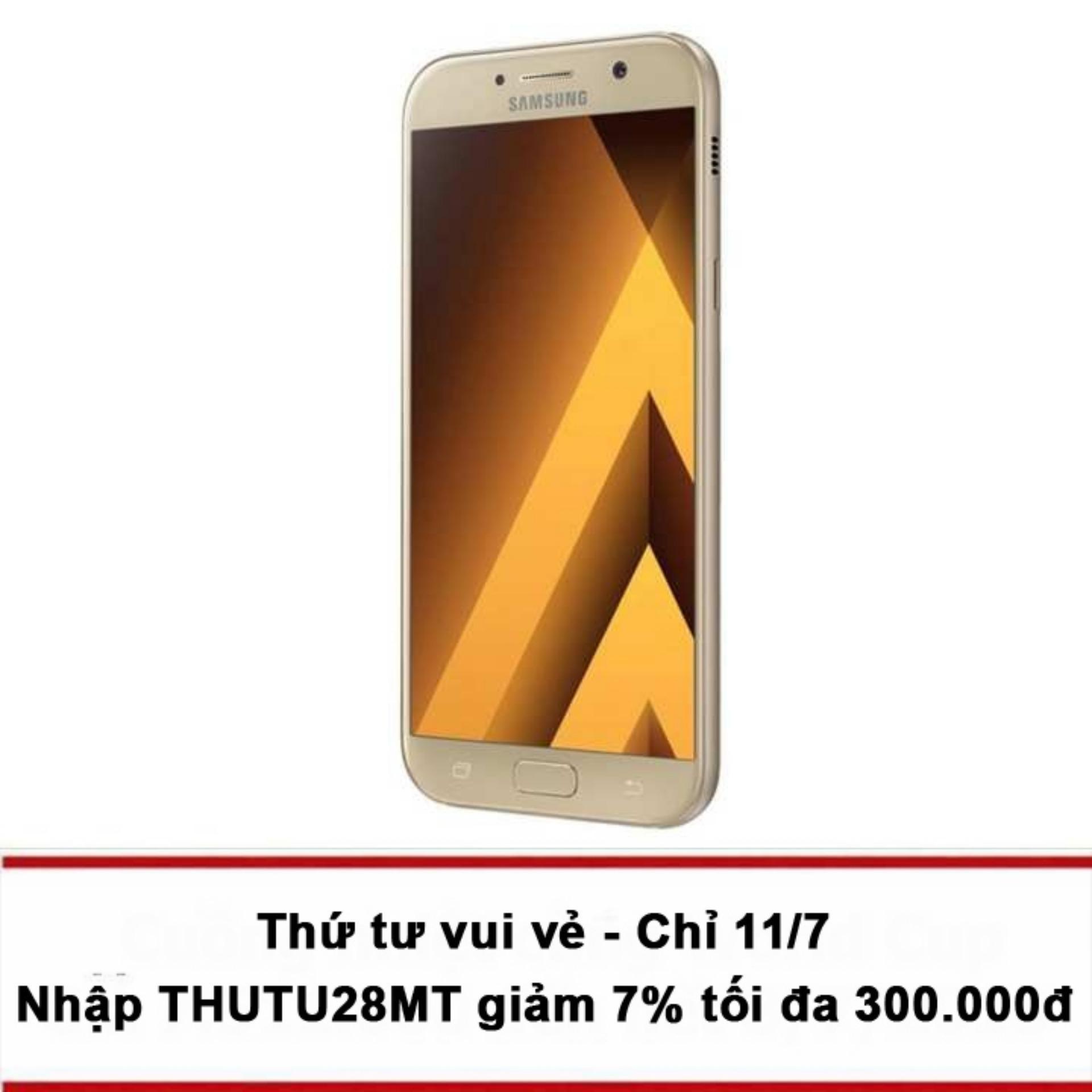 Samsung Galaxy A7 2017 32GB (Vàng) - Hãng phân phối...