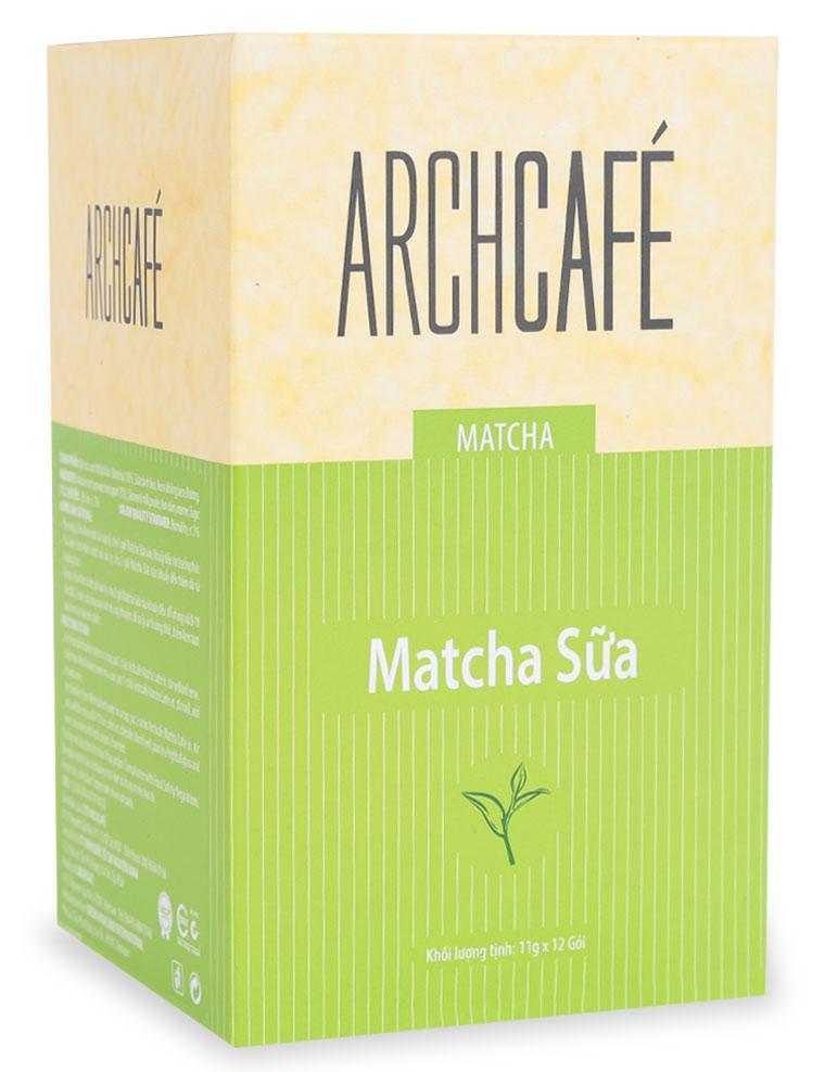 Matcha Sữa Archcafe Hộp 132 G (12 Gói X 11G)
