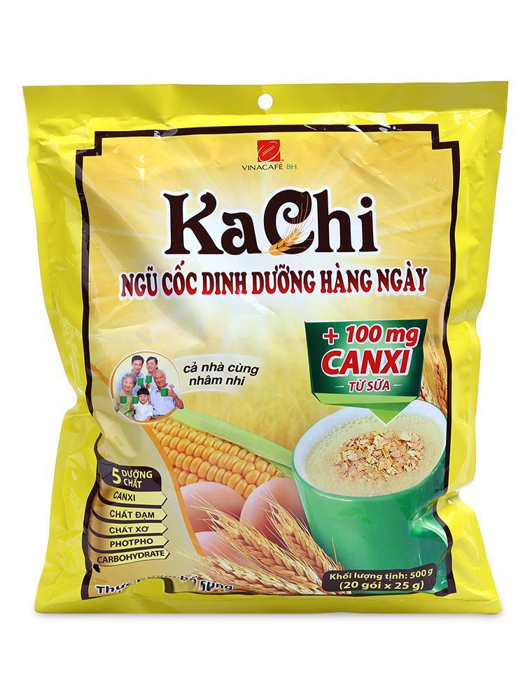 Ngũ Cốc Dinh Dưỡng Kachi Caxi Vina Café Gói 500G