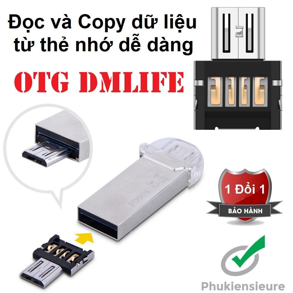 OTG - Đầu chuyển Micro USB (dành cho android)