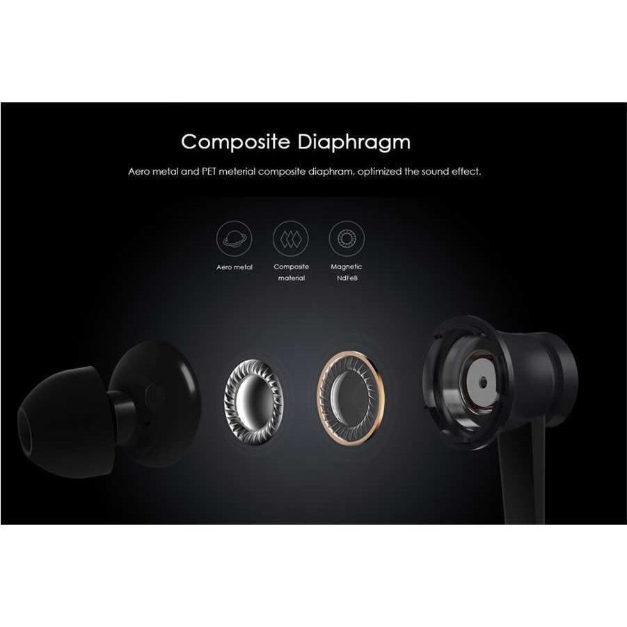 Tai nghe nhét tai Xiaomi Mi In-Ear Headphones Basic 2016 (Đen) - Hãng phân phối chính thức