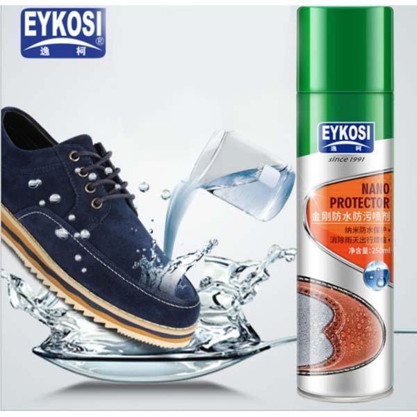Bình xịt phủ nano chống nước cho giày dép đa năng Eykosi 250ml