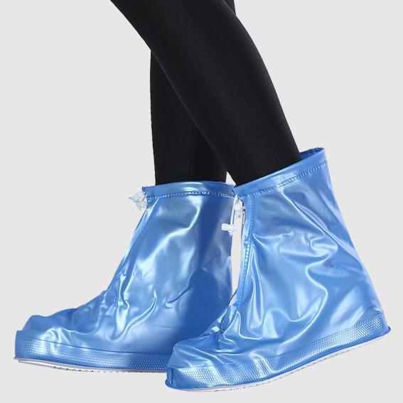 Ủng đi mưa bảo vệ giày cho Nam, chống trượt, siêu bền - Size 37-38