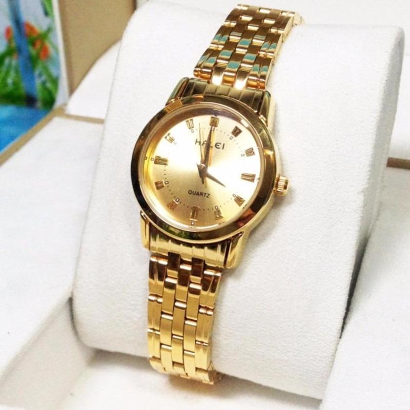 Đồng hồ nữ mạ vàng cao cấp Halei HL4404 cực hót