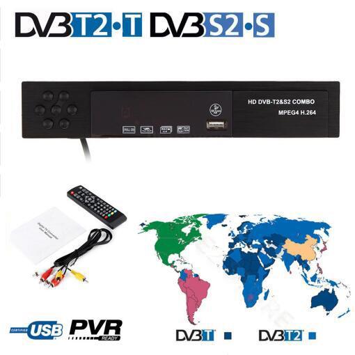 COMBO ĐẦU THU KỸ THUẬT SỐ KTS HD DVB T2+S2 VÀ USB THU WIFI XEM YOUTUBE FREESAT V8