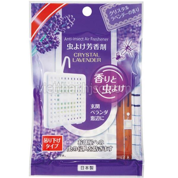 Hàng Nhật - Miếng treo thơm phòng xua muỗi, côn trùng hương lavender